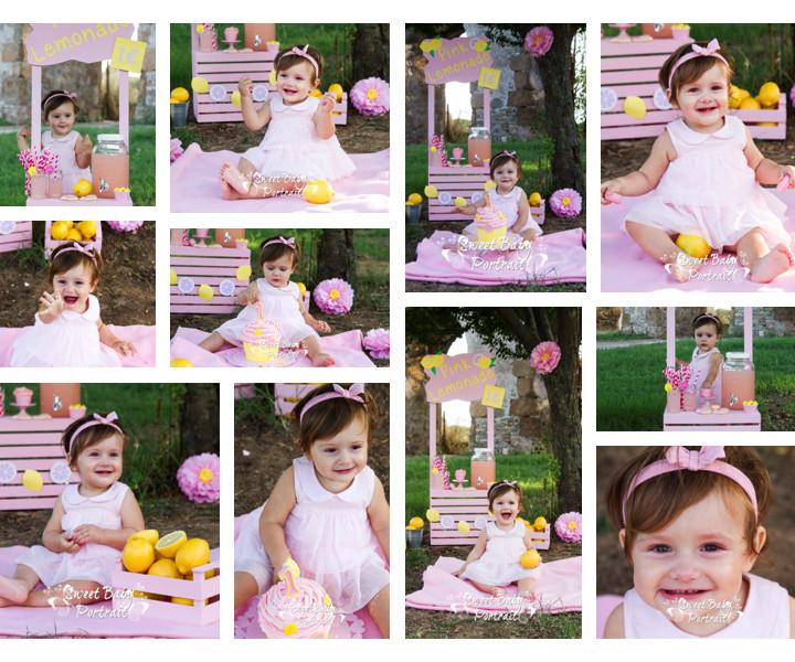 Sveva Cake Smash - Fotografo Bambini Roma