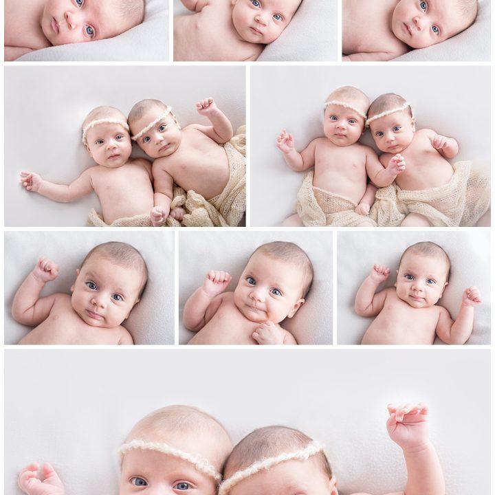 Le gemelline - Fotografo Neonati Roma