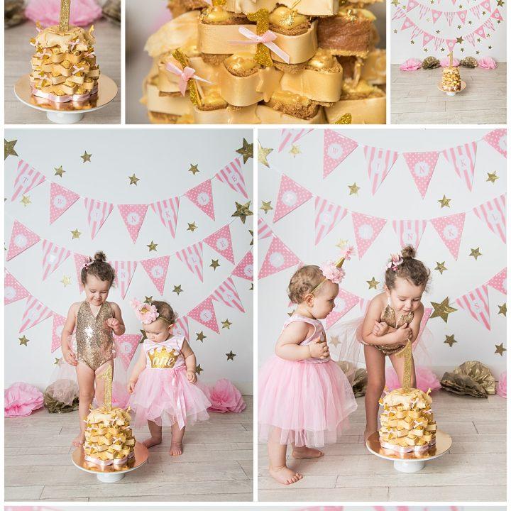 Delfina Cake Smash - Fotografo Bambini Roma