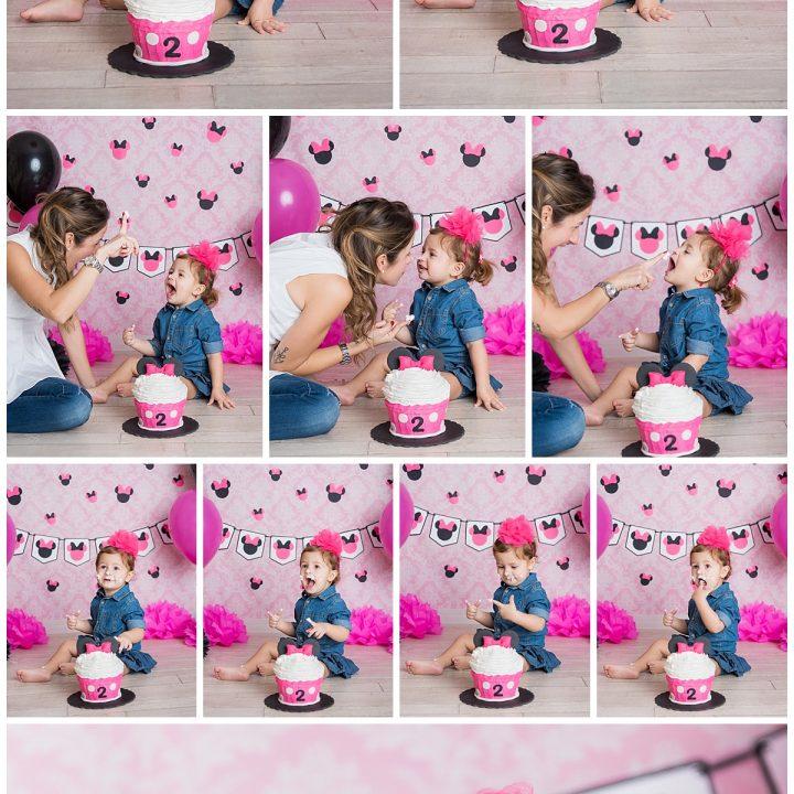 Cake Smash Cloe - Fotografo Bambini Roma
